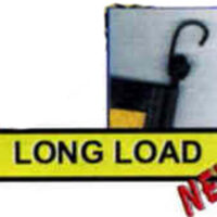 Vinyl Long Load Sign with EZ Hook Bungee