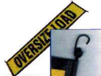 Vinyl Oversize Load Sign with EZ Hook Bungee