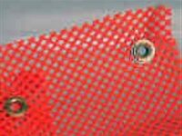 Grommet Warning Flag and Grommet Oversize Warning Flags. Premium quality red or orange jersey mesh flags with two brass grommets