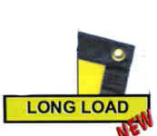 Vinyl Long Load Signs with Grommets